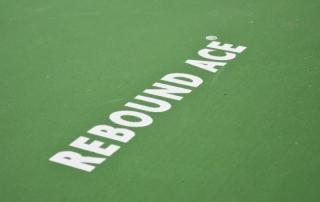 Rebound Ace Hallenboden