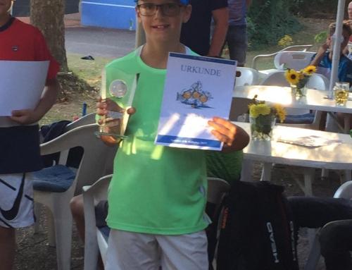 2. Platz beim 8. Spöcker Kids Cup